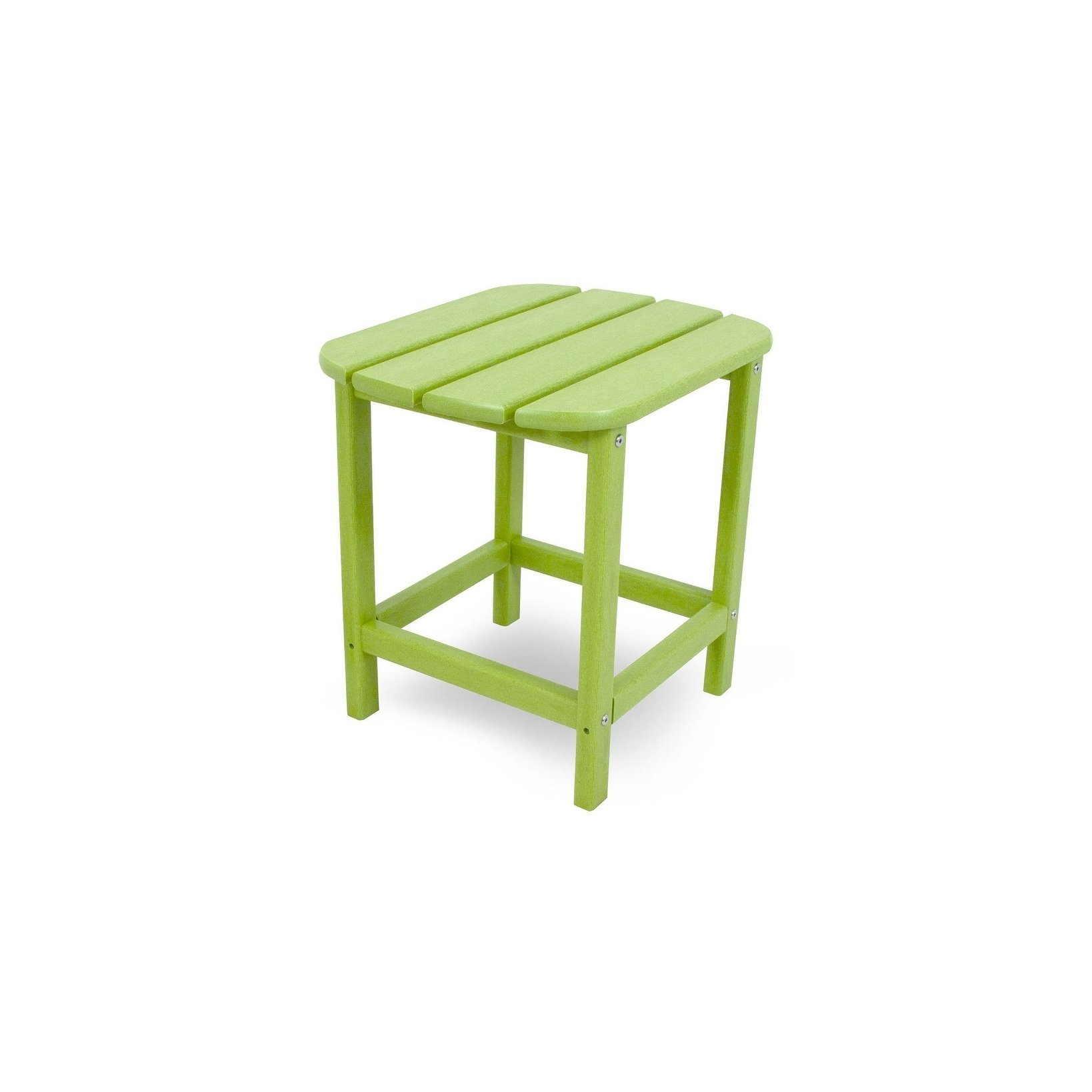 polywood south beach inch outdoor side table free shipping green today coffee plastic garden white counter height living room sofa blue chairs backyard cooler antique end tables