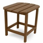 polywood south beach inch outdoor side table free shipping wood today garden furniture storage cherry dining and chairs ethan allen nesting tables modern coffee sets antique ship 150x150
