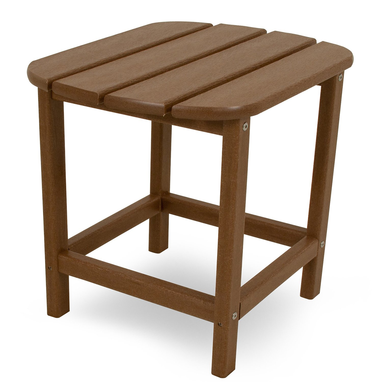 polywood south beach inch outdoor side table free shipping wood today garden furniture storage cherry dining and chairs ethan allen nesting tables modern coffee sets antique ship