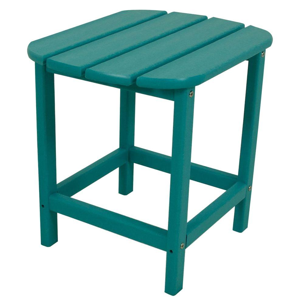 polywood south beach patio side table the outdoor tables accent led puck lights farmhouse entry round aluminum porch nautical theme bathroom ikea childrens storage solutions