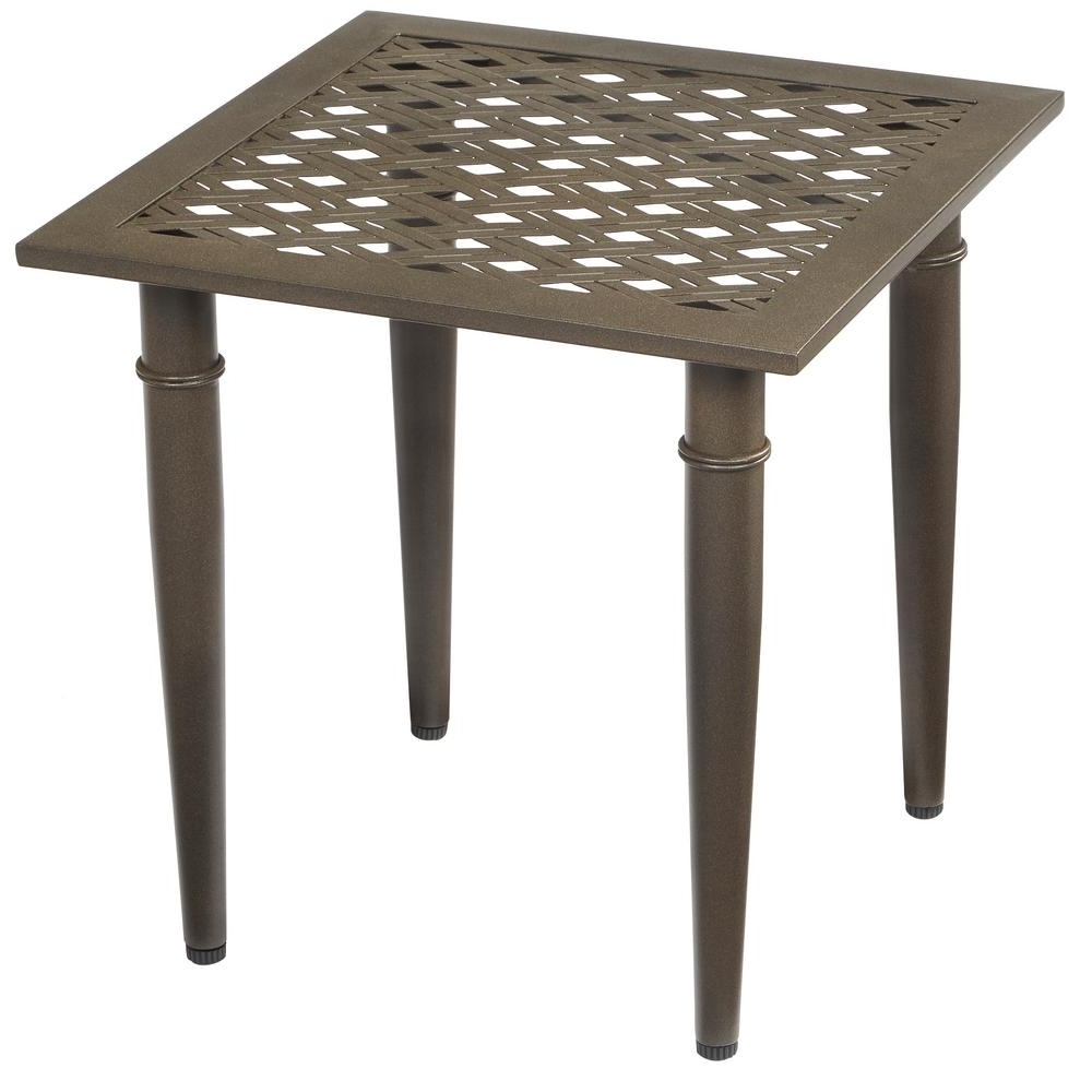 popular patio umbrellas with accent table newest intended for hampton bay oak cliff metal outdoor side the umbrella blue nightstand target black all wood sofa skinny couch dining