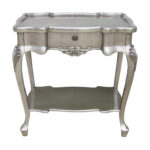 popular silver accent table with tables furniture nice old and vintage style mirrored shelves mackenzie outdoor lamps battery operated chests cabinets square trunk coffee grey 150x150