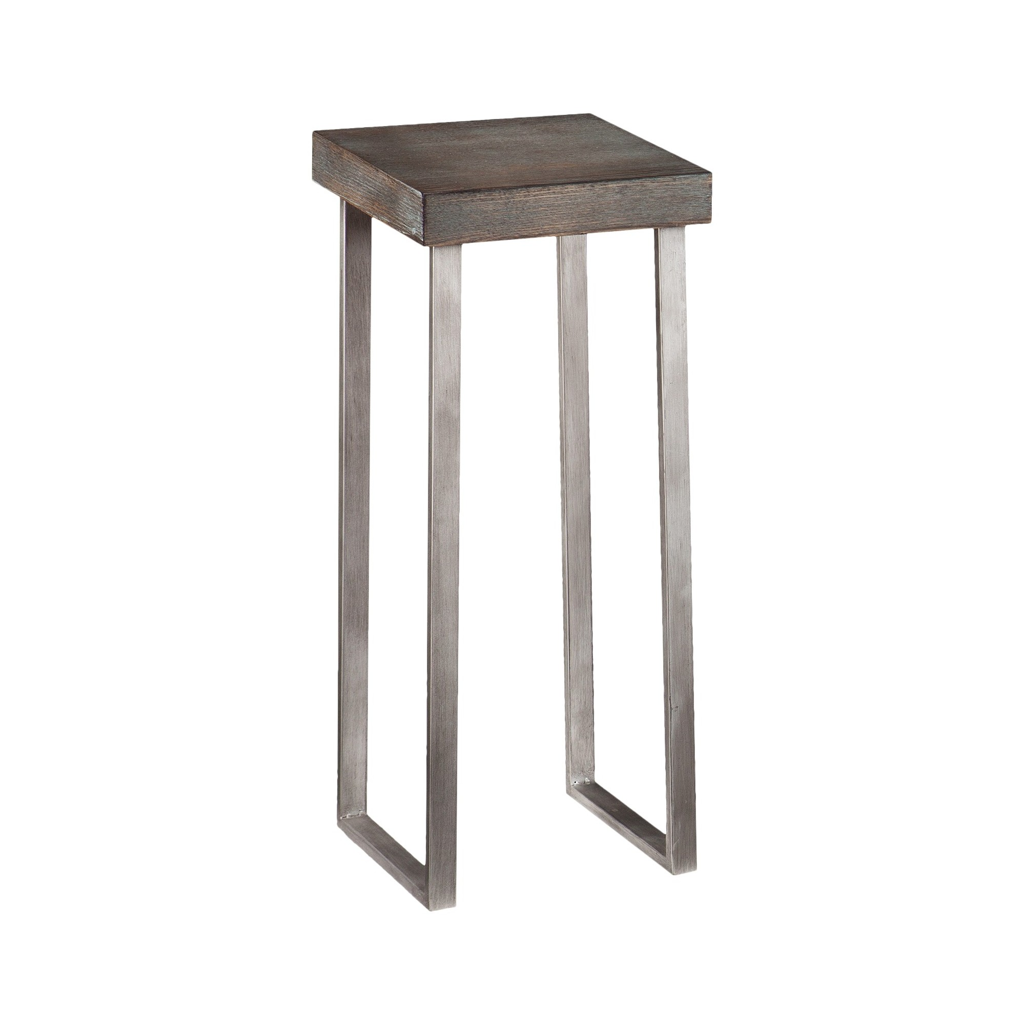 porch den alamo heights cloverleaf wood curved leg end mixed material accent table aiden lane silver marble and chrome coffee uma ikea garden furniture sets ethan allen round