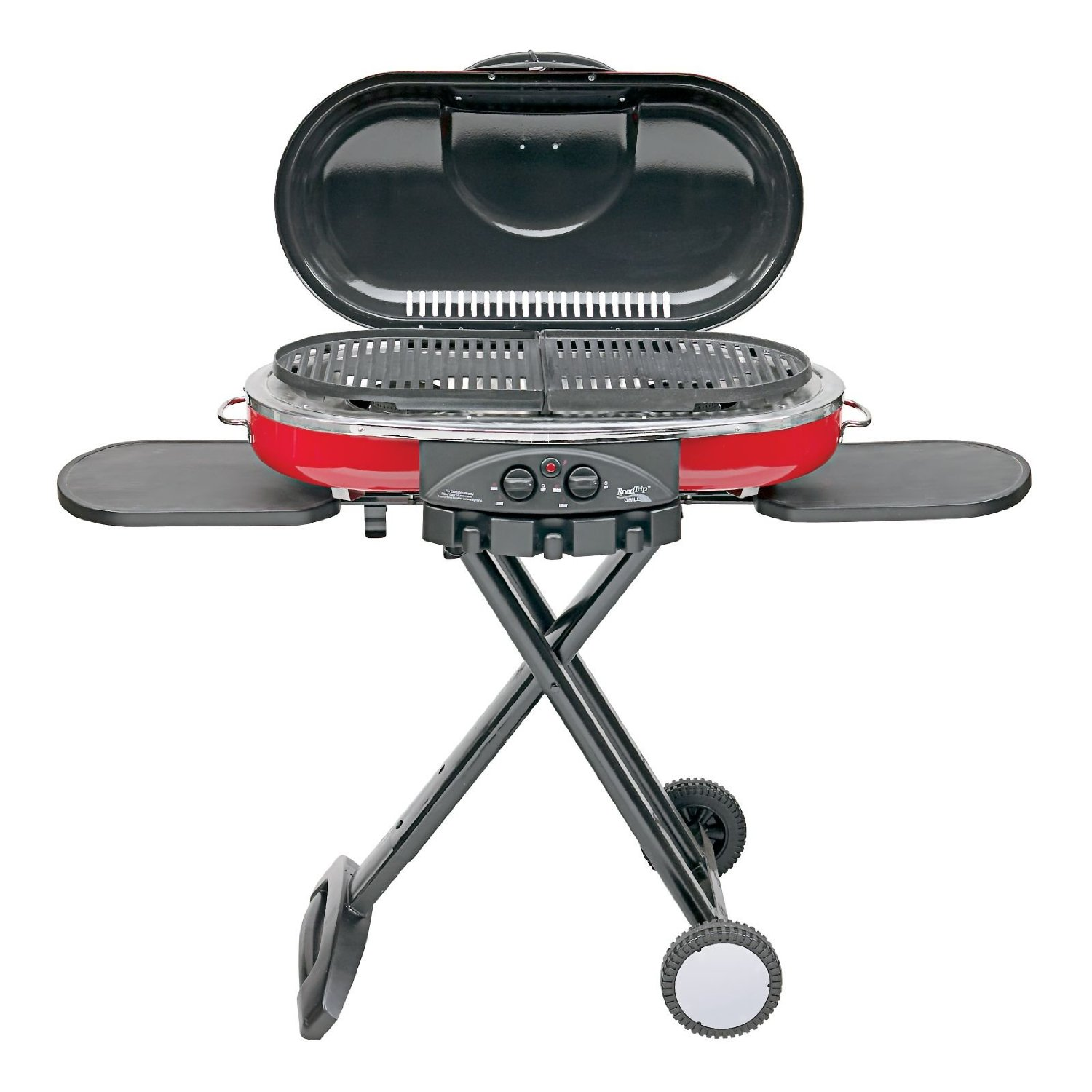 portable gas grills outdoor iron chef coleman roadtrip lxe propane grill side table canadian tire best review gold metal coffee glass top patio with umbrella hole nautical end