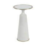 post putnam and mason viridine ivory round accent table heaters telephone seat pier one counter stools metal height sheesham wood furniture parasol verizon tablet roberts hooker 150x150