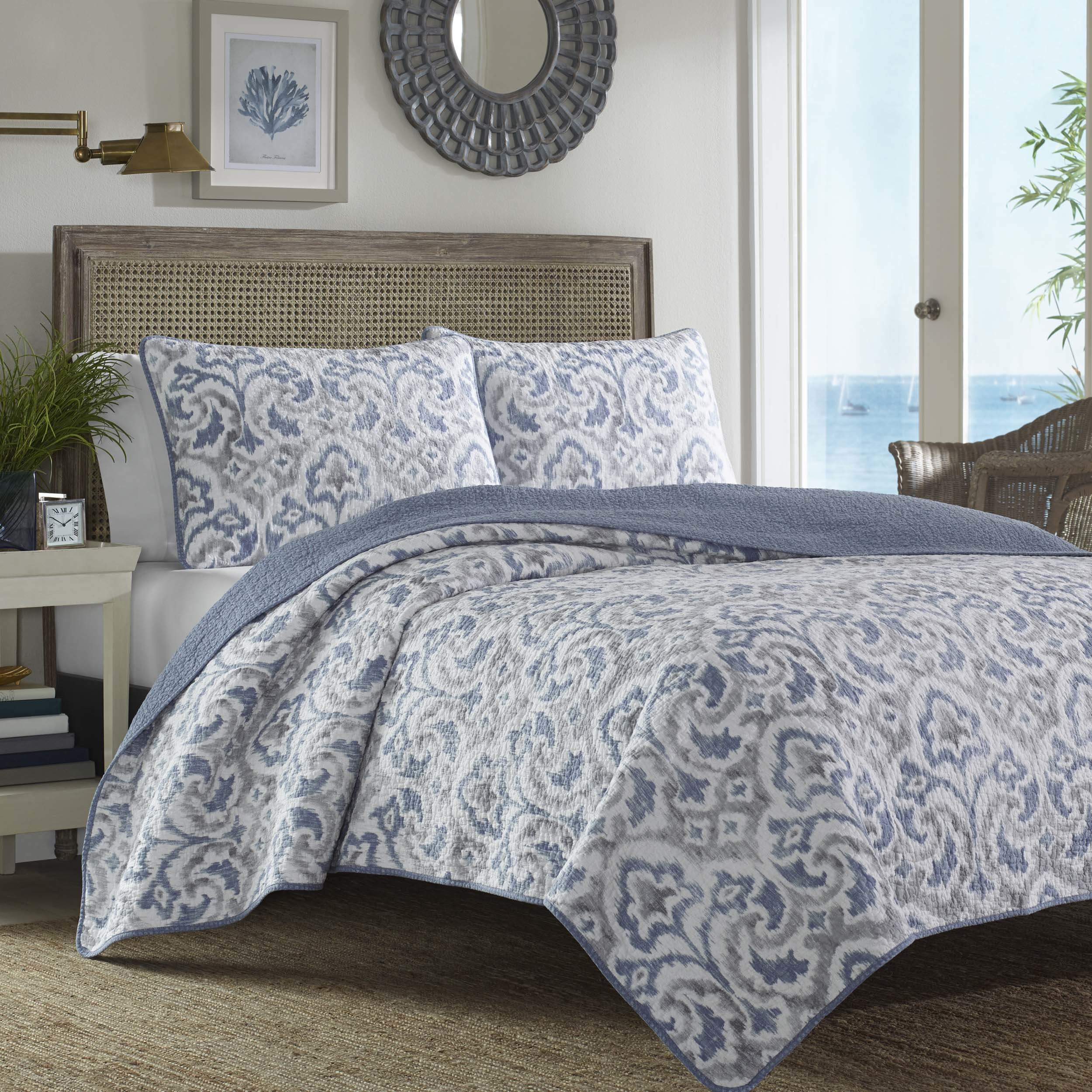 pottery barn bedding reversible quilt set tommy bahama jamie accent table quickview pier one imports dining room tables small outside and chairs mirrored coffee with storage