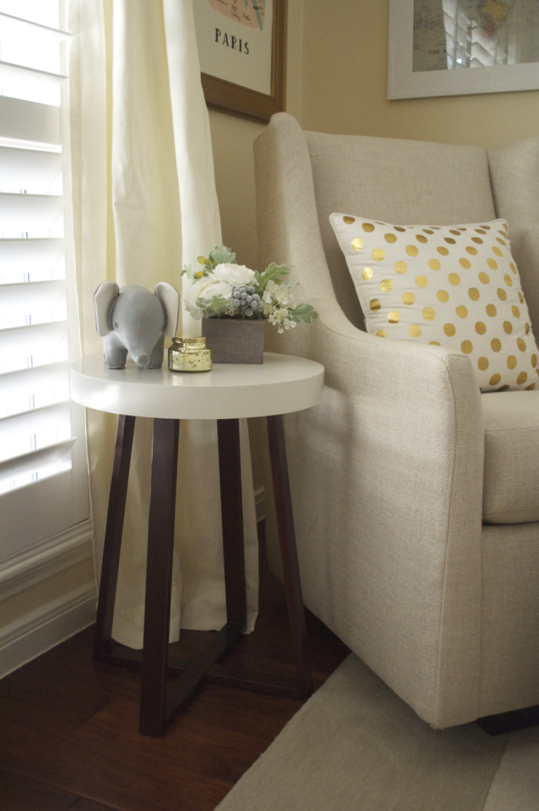 pottery barn snapshots thoughts lifestyle blog ailee dsc target threshold accent table anthropologie polka dot pillow west elm graham glider ott piece living room set skinny glass