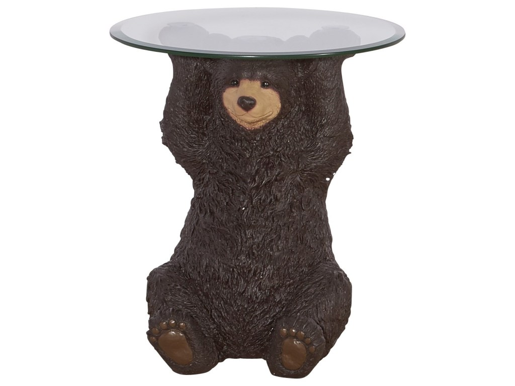 powell accent furniture barney bear side table westrich products color unique end tables inch round plastic tablecloths media stand trestle dining set clearance deck acrylic