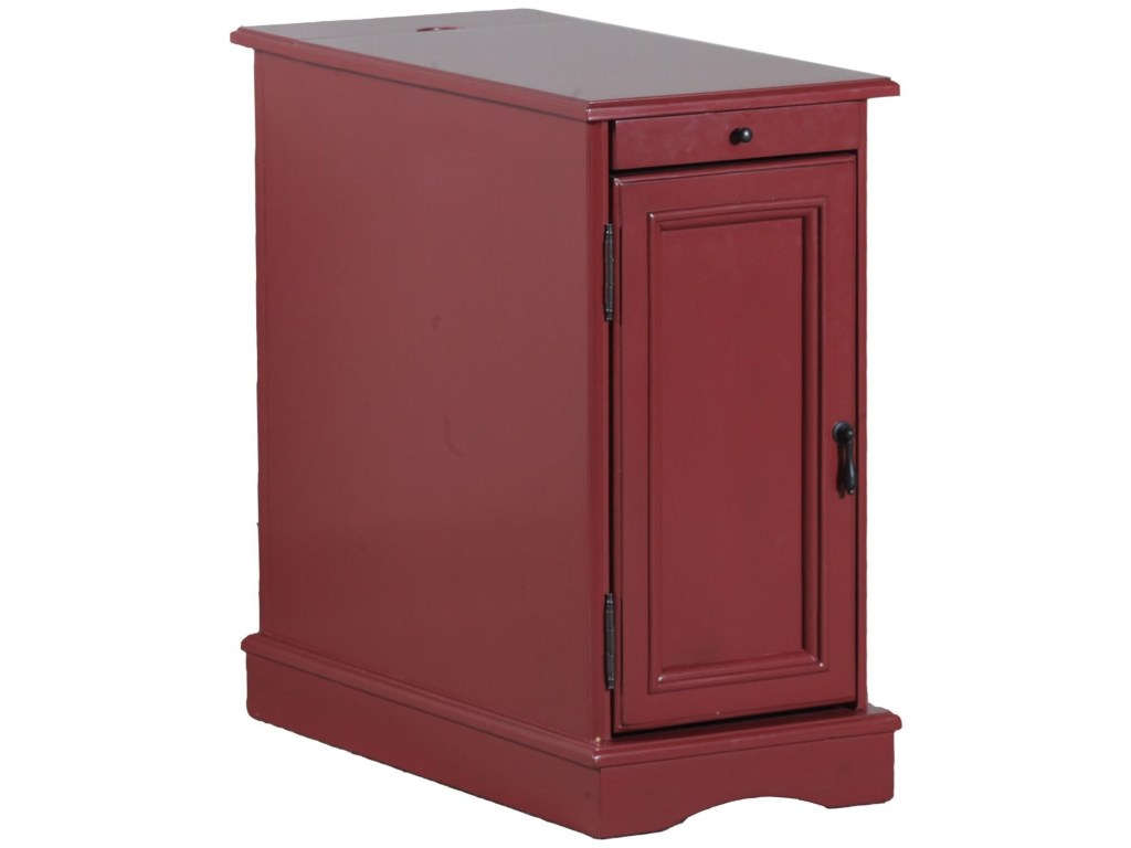 powell accent furniture butler red table olinde products color wood ikea desk pottery barn dining room sets gray chairs target side slim lamp hourglass bar stool industrial
