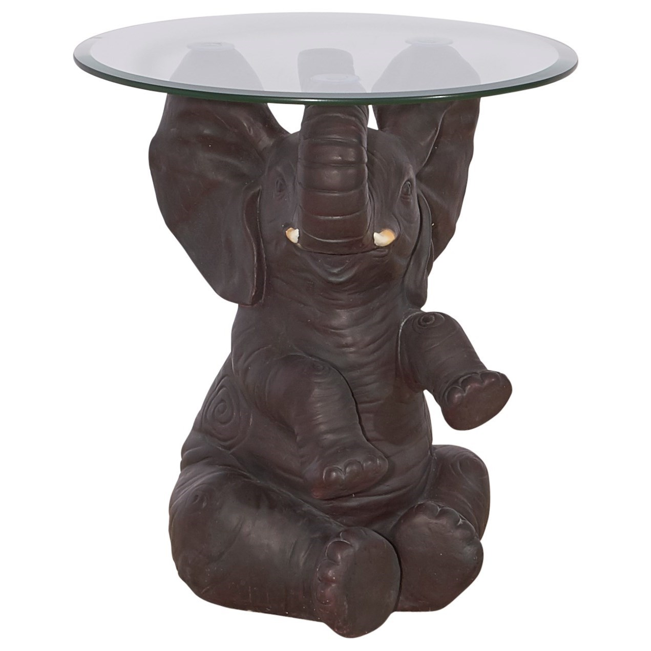 powell accent furniture ernie elephant side table olinde products color circle metal coffee rattan top outdoor umbrella cantilever corner ikea ozark trail tumbler discontinued