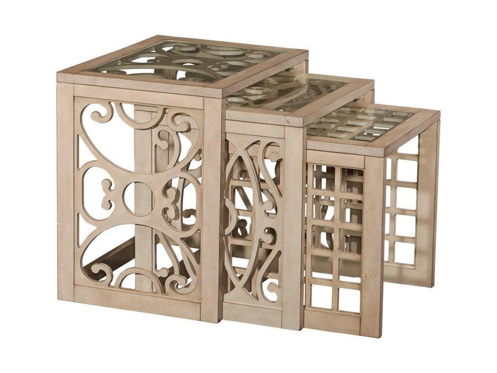 powell accent furniture juliana nesting tables westrich products color table with wine rack furniturejuliana outdoor patio and chairs apothecary chest small round pedestal side