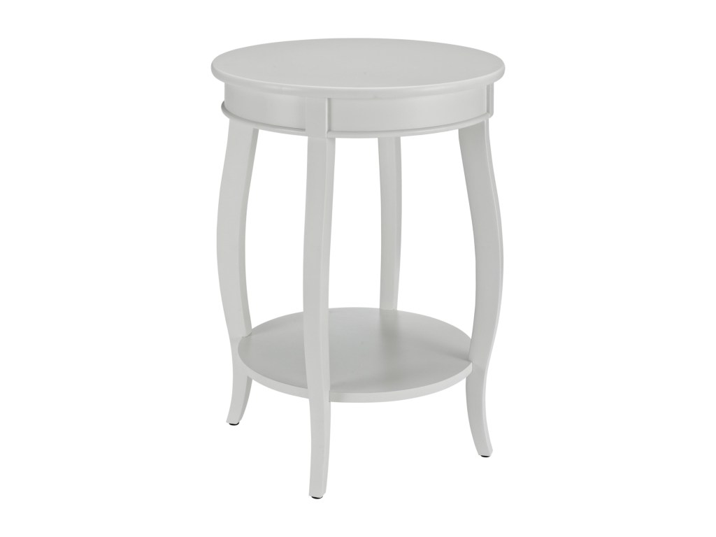 powell accent tables round table shelf colder furniture and products color white wood tablesround glass top occasional italian marble coffee unique cabinet hardware computer desk