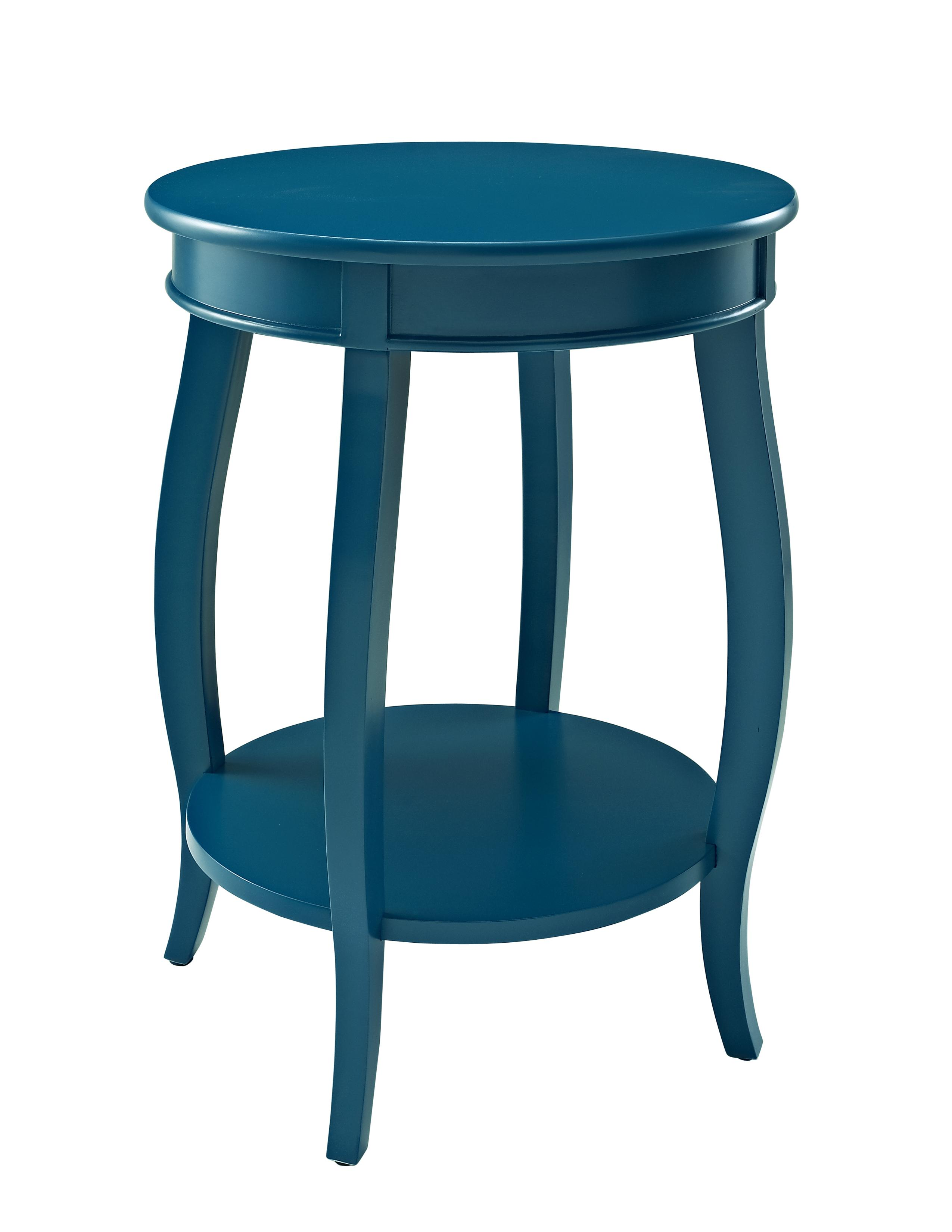 powell accent tables round table shelf fmg local home products color spindle wood three piece chairside patio set with fire pit pottery barn black dining matching end office wall