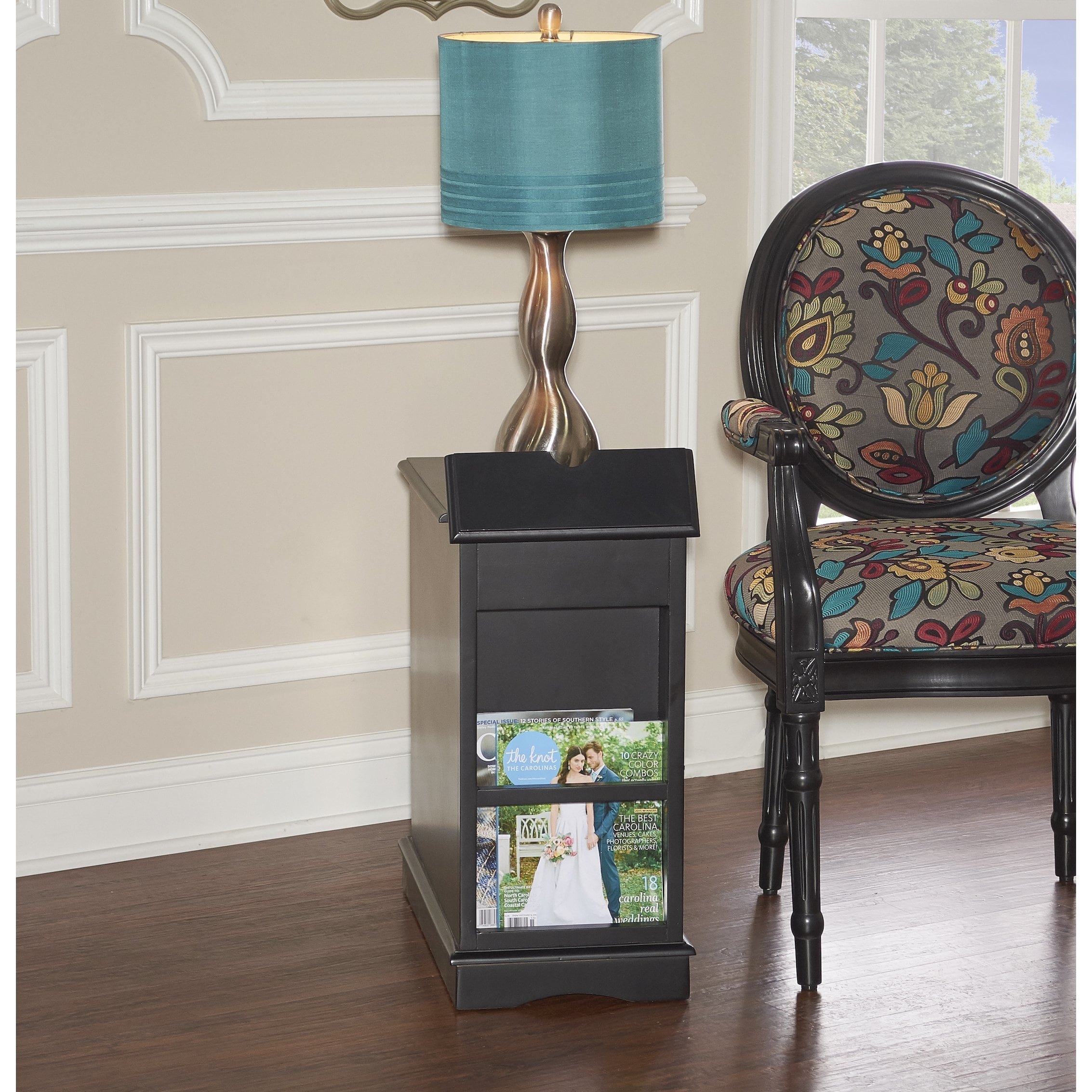 powell kford black accent table free shipping today small outdoor storage box dining and chairs tiffany pond lily lamp trailer furniture piece garden set ethan allen round end