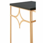 premier lexa plant end accent tables set rose gold mac table black stackable warm metalic finish contemporary marble dining home clocks wire side target couch covers kmart storage 150x150