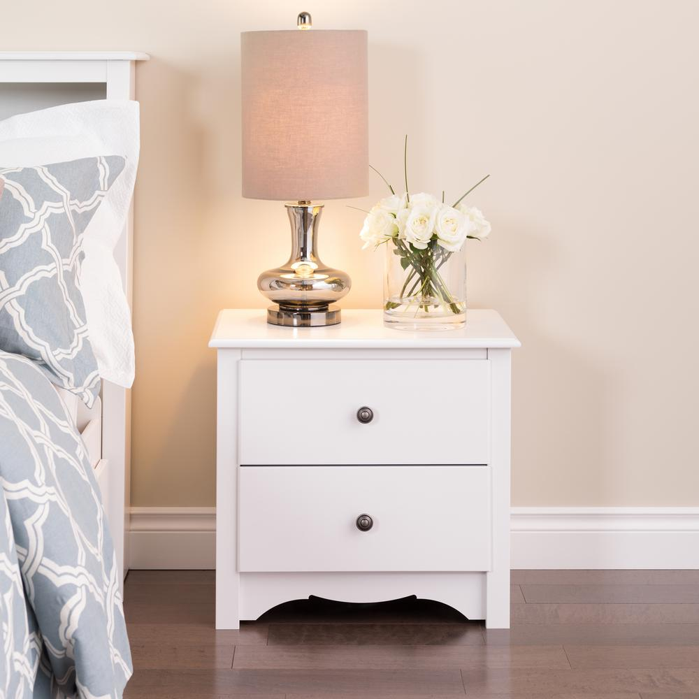 prepac monterey drawer white nightstand wdc the nightstands accent table drum seat with backrest counter height and chairs nautical wall lights farmhouse dining bench wine rack