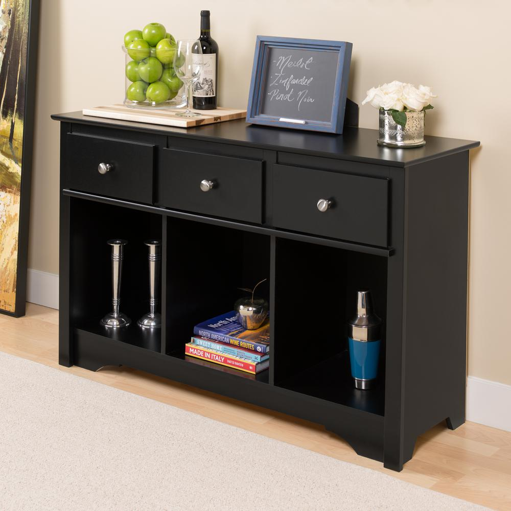prepac sonoma black storage console table blc the tables accent room essentials wood and glass nest furniture toronto skinny ikea dorm necessities mosaic coffee pier one lamps