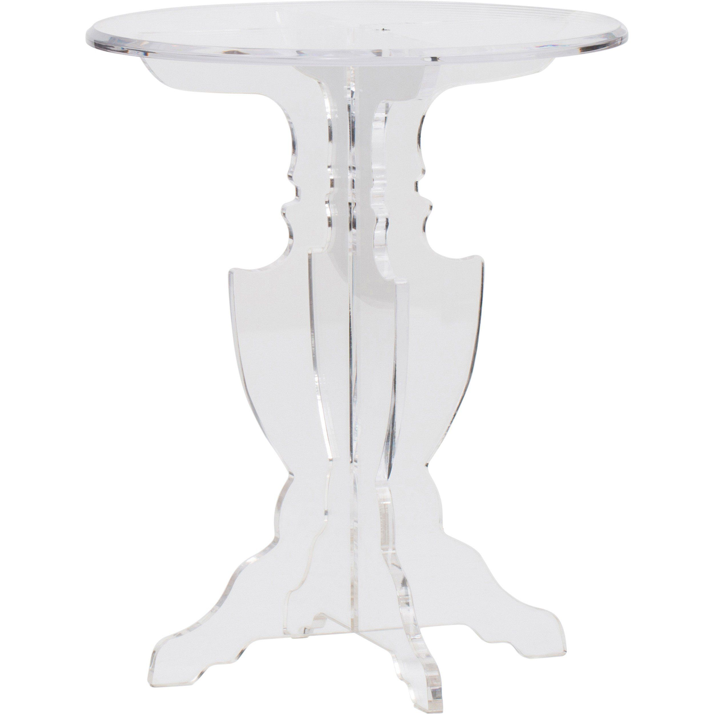 prestige acrylic accent table end tables black furniture red oriental lamps bar height set outdoor rocking chair covers stained glass buffet wisteria sliding door ideas concrete