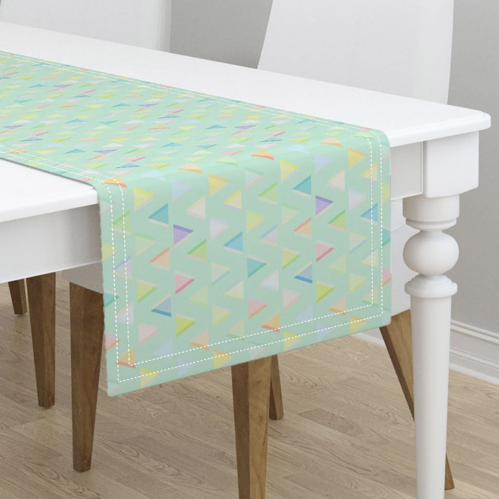 pretty table linen ideas for ture perfect parties taste home accent your focus runner free pattern pastel small green side diy farmhouse threshold windham collection tall drum