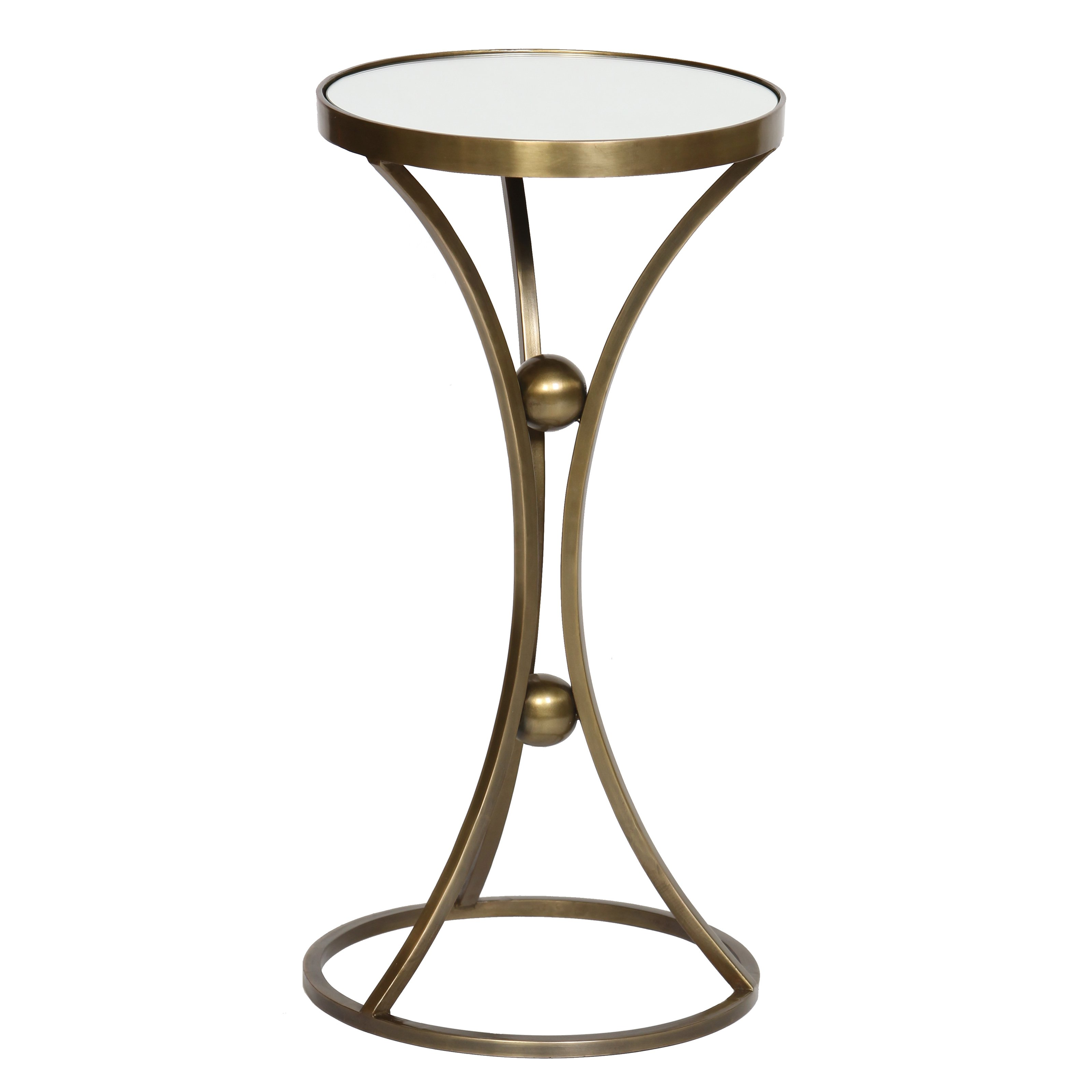 prima legged accent table antique brass metal tables bronze pottery barn legs rustic patio sun shades gray and white coffee contemporary round end homesense bar stools ashley