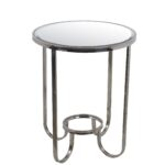 privilege accent table steel contemporary side tables and industrial chic end zeckos pier one bedside tiffany peacock floor lamp furniture square coffee with storage solid wood 150x150