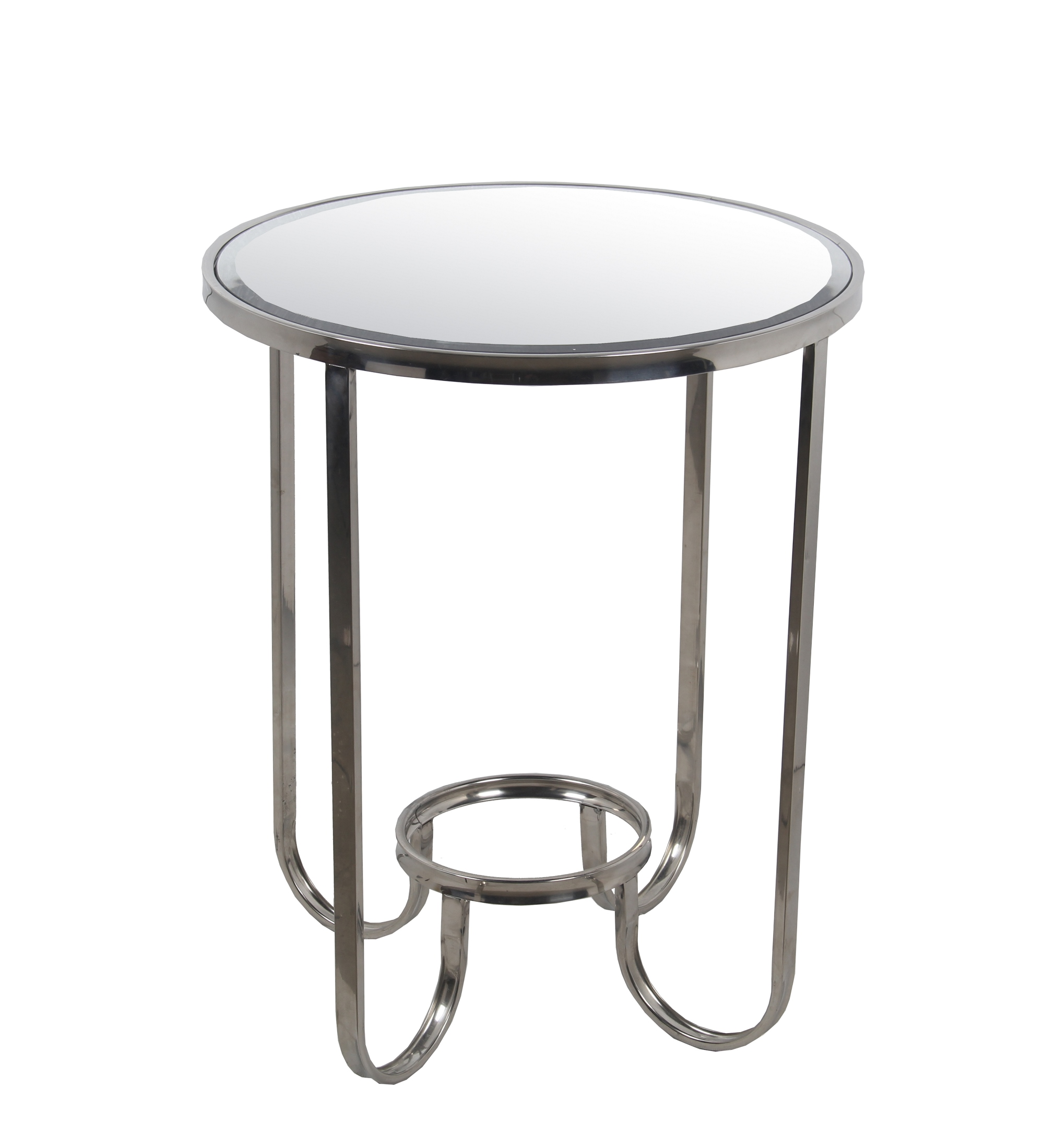 privilege accent table steel contemporary side tables and industrial chic end zeckos pier one bedside tiffany peacock floor lamp furniture square coffee with storage solid wood