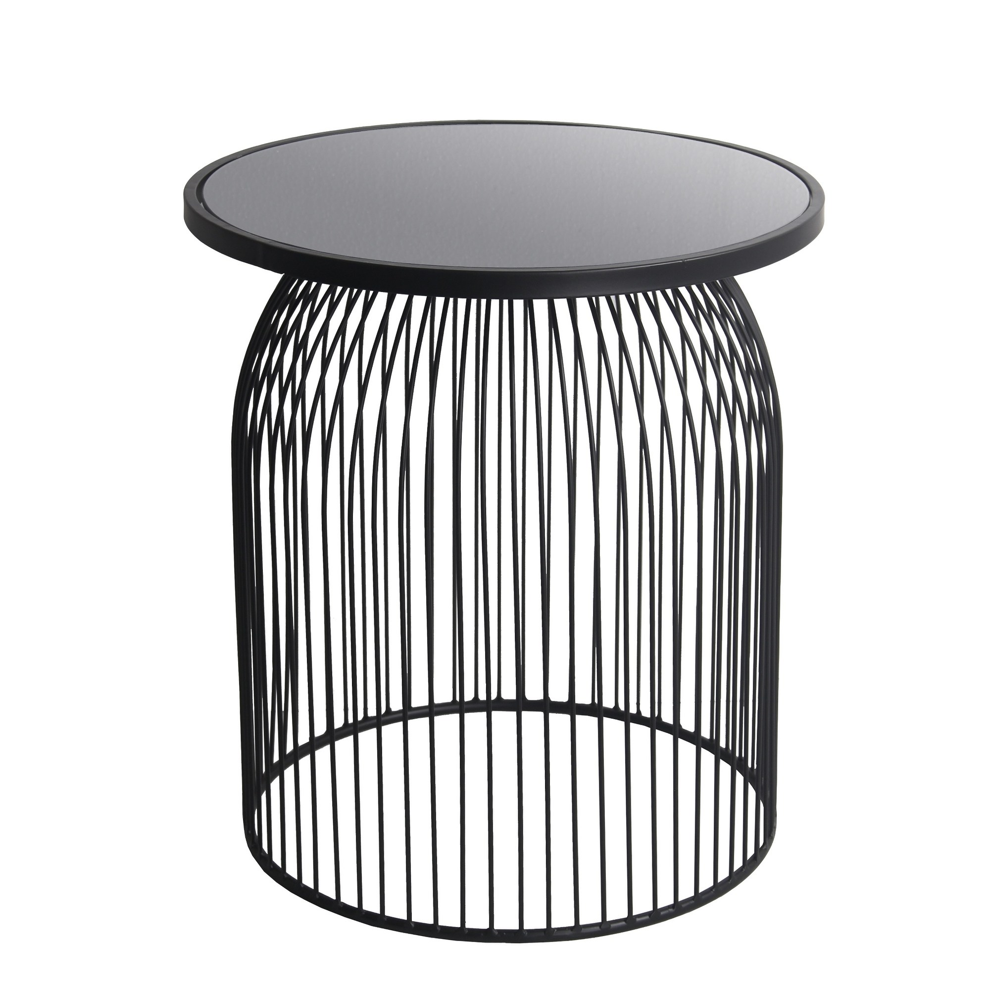 privilege black metal accent table with mirror top free shipping today pulaski display cabinet support leg pottery barn griffin pier one furniture coupons hampton bay wicker patio