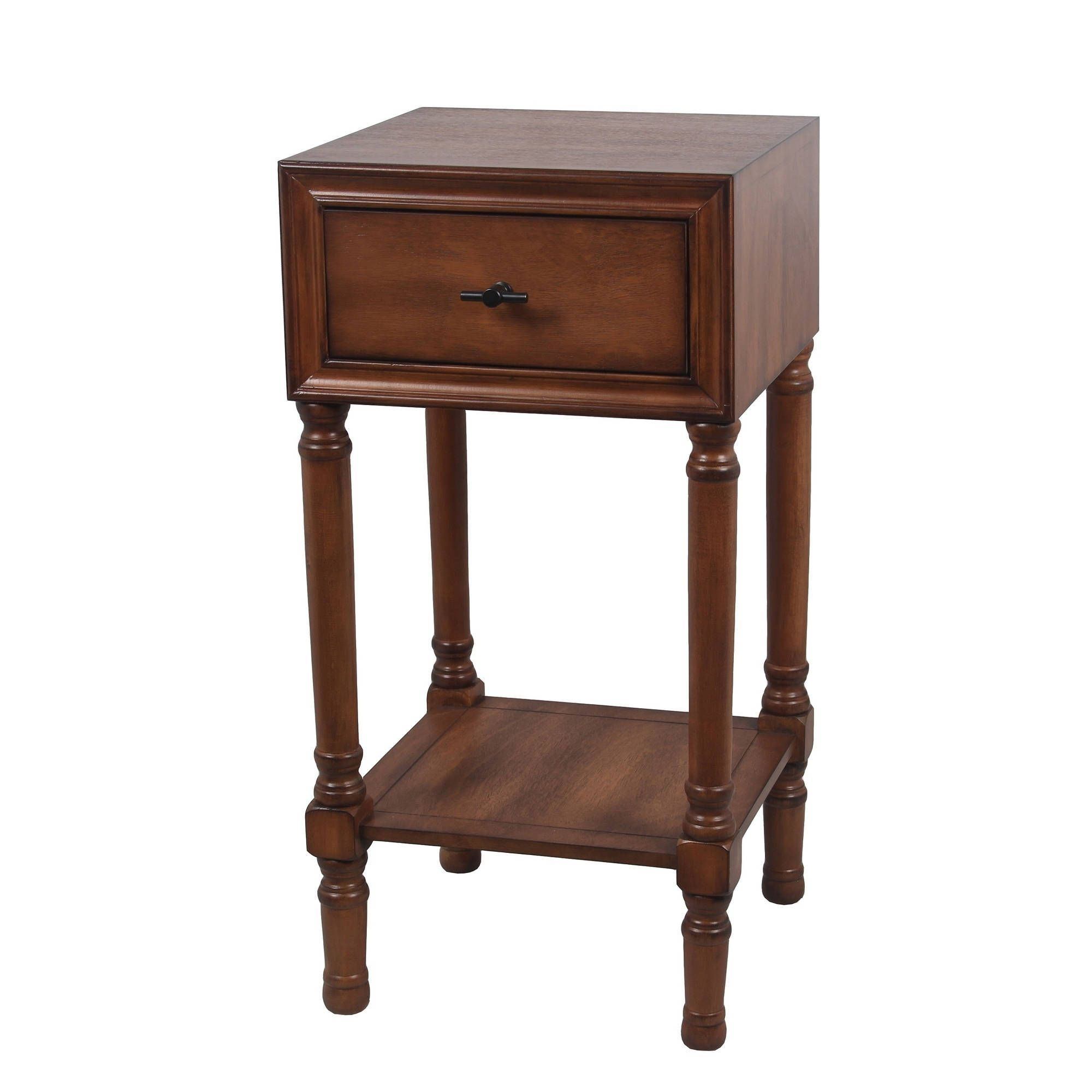 privilege draw accent table honeynut brown and legs half round kitchen hairpin leg end counter height side marble aqua blue globe lamp tall bar set pottery barn mahogany coffee