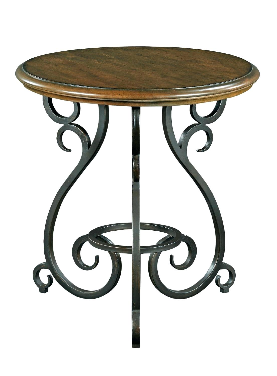 privilege gold iron accent table liked featuring home furniture traditional round with old world cast base mosaic black outdoor manor solid ikea file box small metal patio side