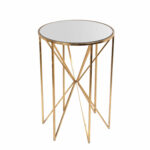 privilege gold leaf accent table bellacor hover zoom target leather sofa patio dining furniture family room decorating ideas restoration hardware small silver lamps lucite acrylic 150x150