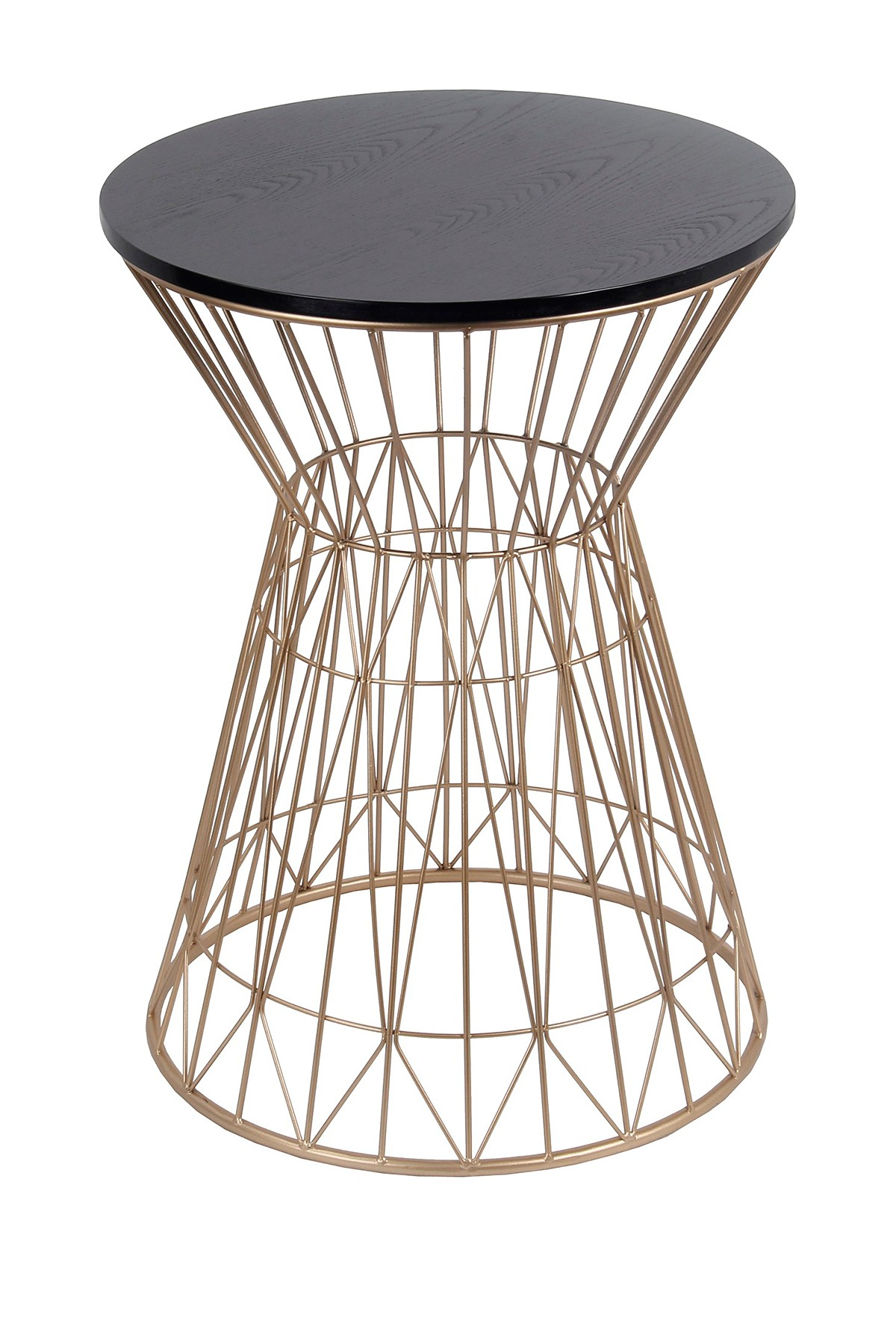 privilege home decor black gold accent table nordstrom rack simple quilted runner patterns wall clock design small half circle quatrefoil wood counter height console entrance