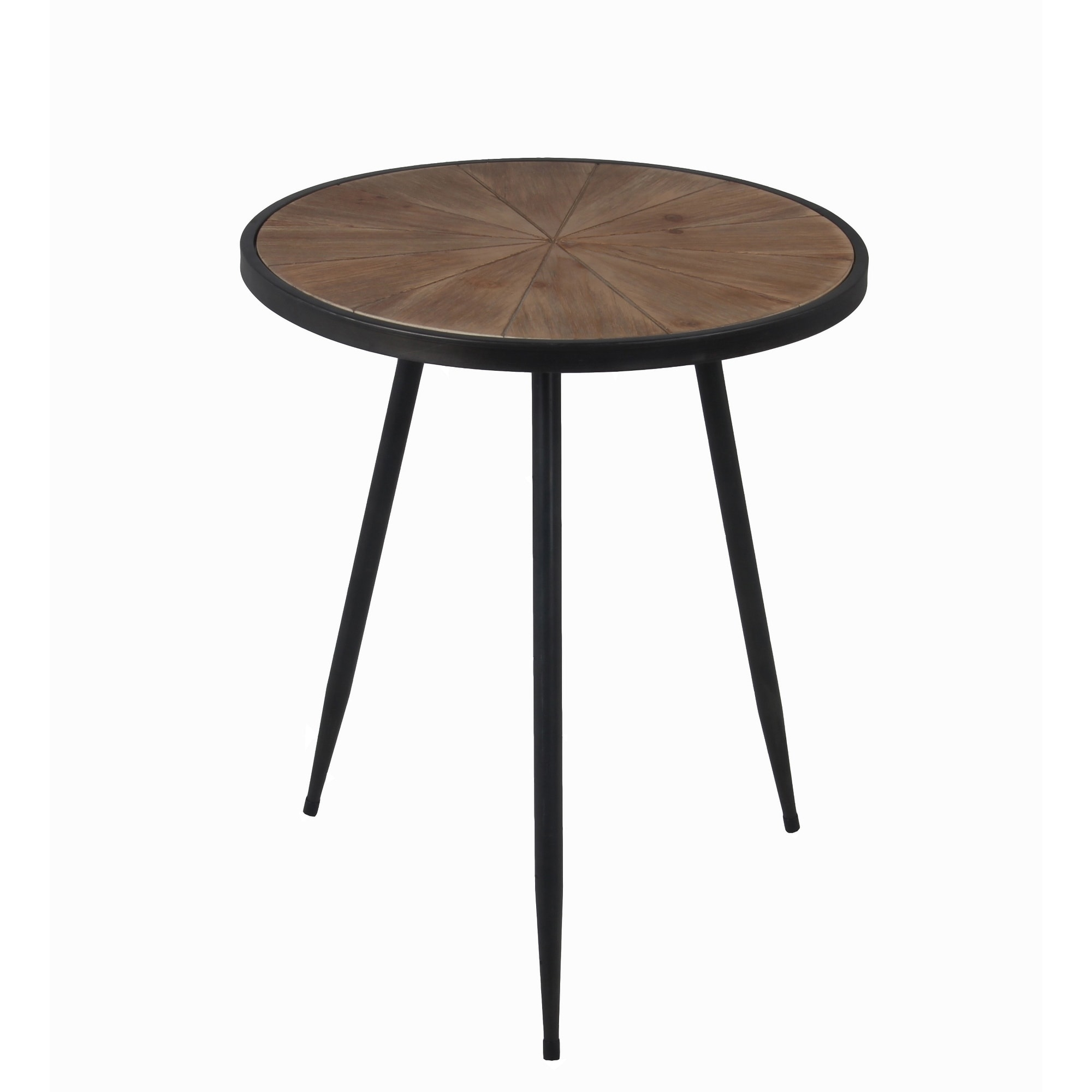 privilege large round accent table featuring wood top with metal body free shipping today pier one imports clearance furniture mirrored end very small coffee ikea narrow pine