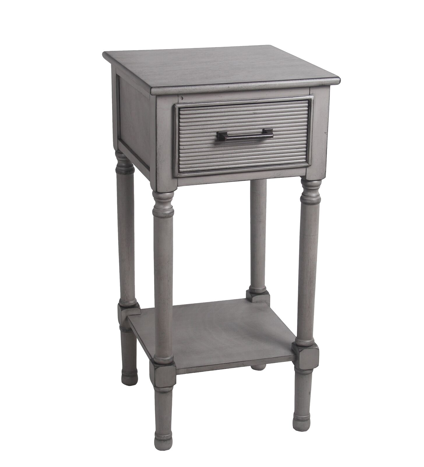 privilege transitional wood accent table with gray finish red home accessories black console ikea marble dining set hairpin coffee high white bedside cabinets mosaic patio and
