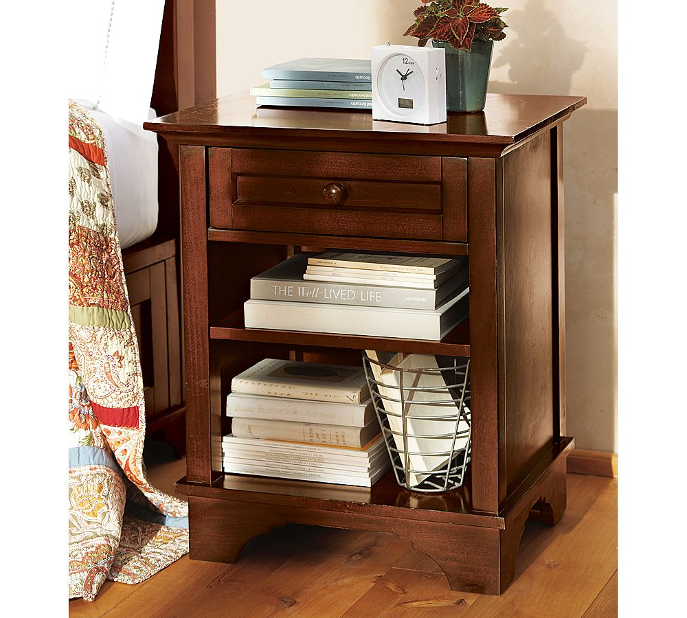 probably outrageous nice pottery barn mirrored bedside table brina side tables old paint design cynthia modern white lamp black friday nightstand ikea overlays unusual lamps