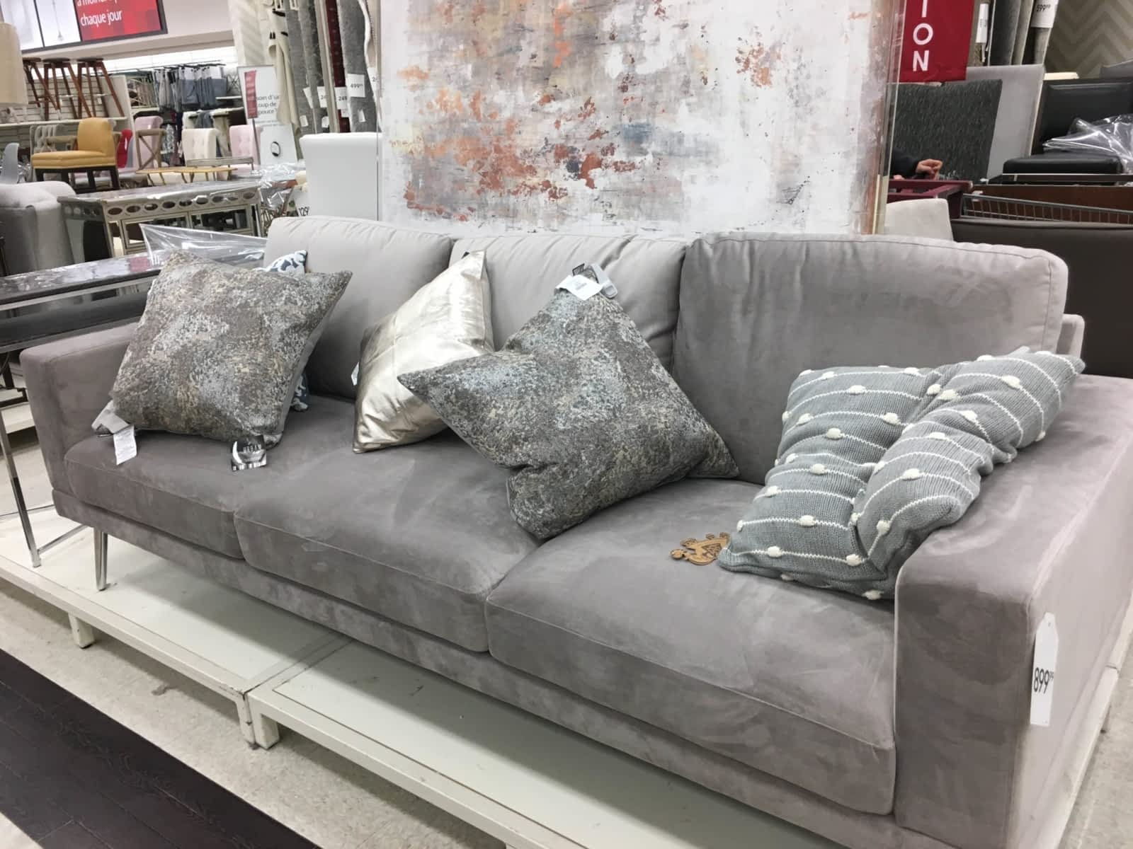 probably perfect awesome homesense grey armchair idea living room sets sofa covers other decor beds cushions throws full size adjustable hospital tray table small modern accent