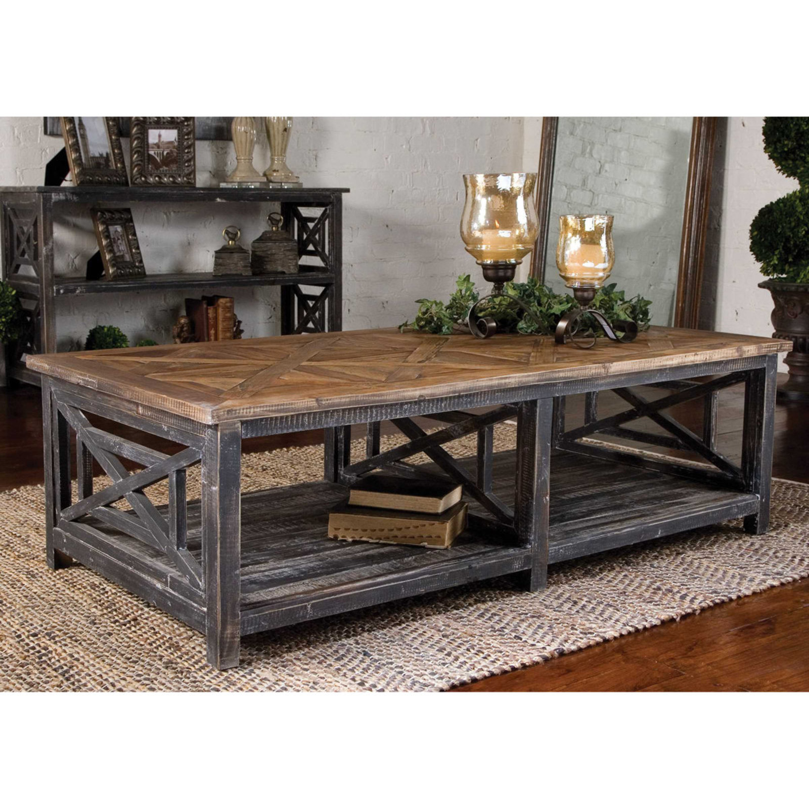probably perfect awesome reclaimed wood coffee and end tables rustic table shades light distressed black natural with gray glaze grey silver lamps dog cage sizes small