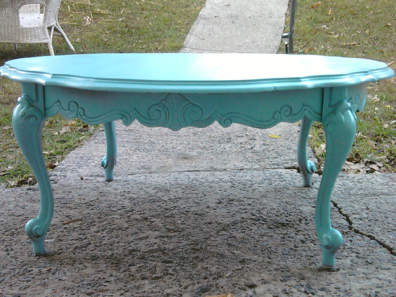 probably perfect cool teal blue end table ideas mira road new leaf furniture scalloped coffee sold kijiji calgary small iron target mid century stainless fridge mirrored side
