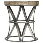 probably perfect fun drum shaped end table gallery mira road iron wood accent stool scenario home wooden bedside cabinets ashley furniture leather couch marble top sofa outdoor 150x150