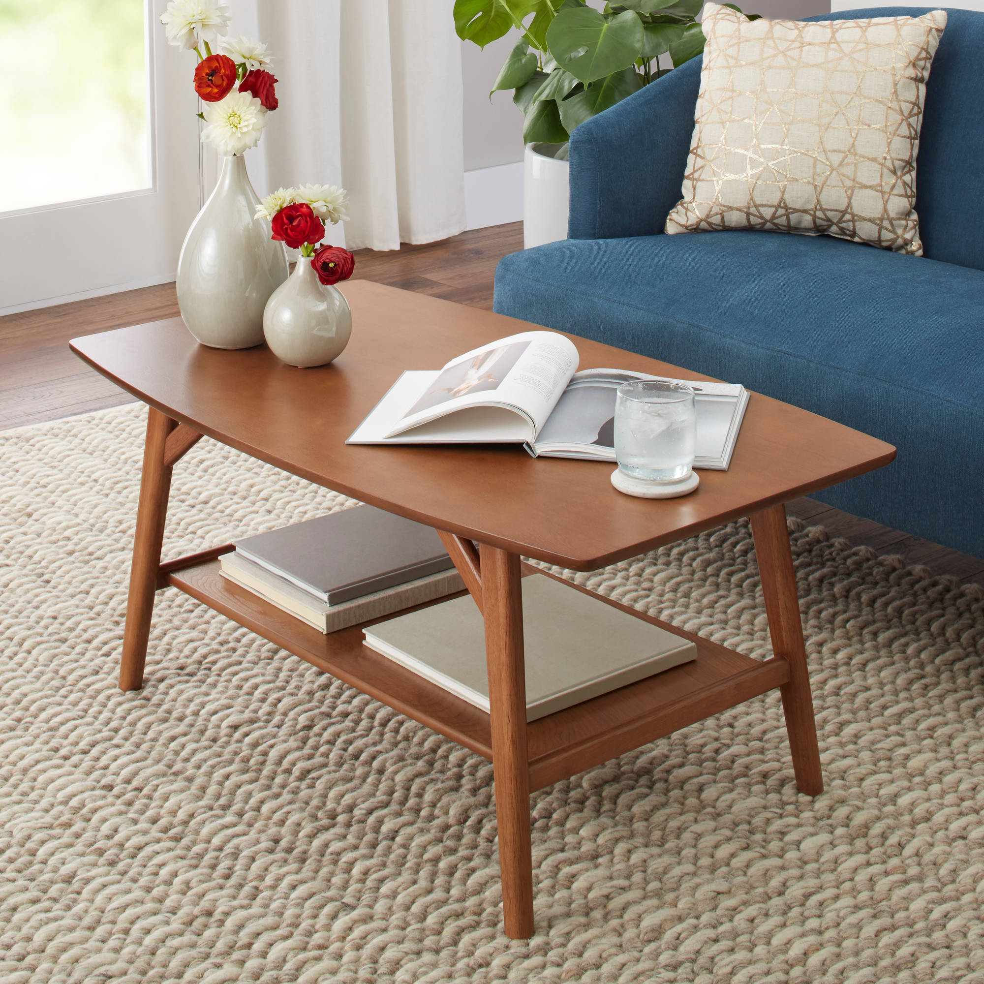 probably terrific cool solid wood coffee and end table sets better homes gardens reed mid century modern pecan glass side living room high round accent single memory foam mattress