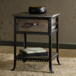 probably terrific cool winsome wood end table night stand with metal and nightstand home design fuller old tall likable organizer nightstands for marble top reclaimed drawer shelf 150x150