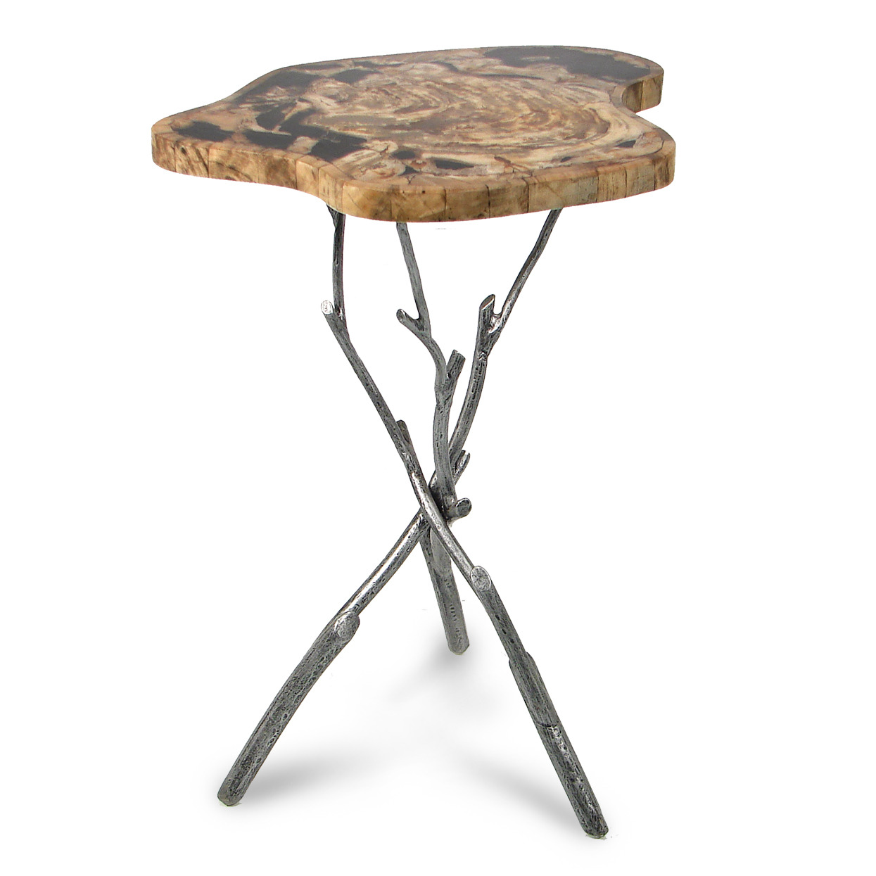 probably terrific great petrified wood end table mira road awesome side home remodel ideas with farmhouse style round dining room leaf building kitchen rustic tables wheels wooden