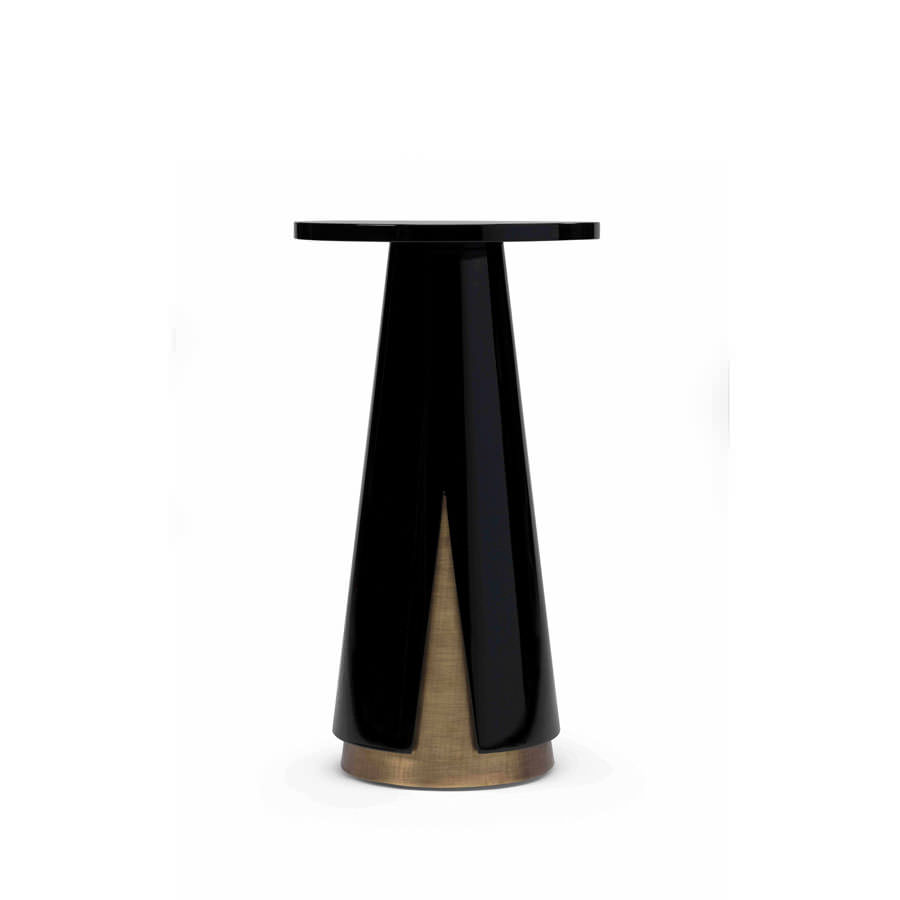 products kassavello mini moon side table accent inch deep console oval teak coffee dining room linens hardwood furniture bamboo zebra black round hand painted oak chairs wood legs