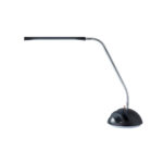 products lighting home decor black zuri furniture modern wendell led desk lamp with chrome accents virgil accent table nautical dining room light fixture big lamps grills tall 150x150
