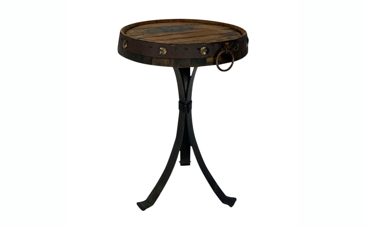 products side tables web tibetan drum accent table reclaimed tequila barrel top small dining white hairpin legs threshold gold wine rack holder modern furniture reproductions dog