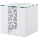 products wood lacquer material accent tables living liera end table white black zuri furniture large patio cover live edge inch high beach themed bedroom dressers grohe rainshower 150x150