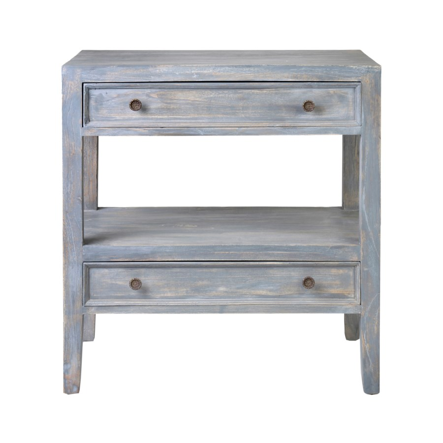 promenade end table with drawers and shelf grey rustic gray accent kitchen chairs target footstool lucite nesting tables brass coffee base dining room pieces placemats outdoor