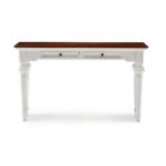 provence accent solid mahogany console table hygge home with drawers rustic elegant decor short furniture legs copper desk lamp entry hall chests family room clear acrylic pottery 150x150
