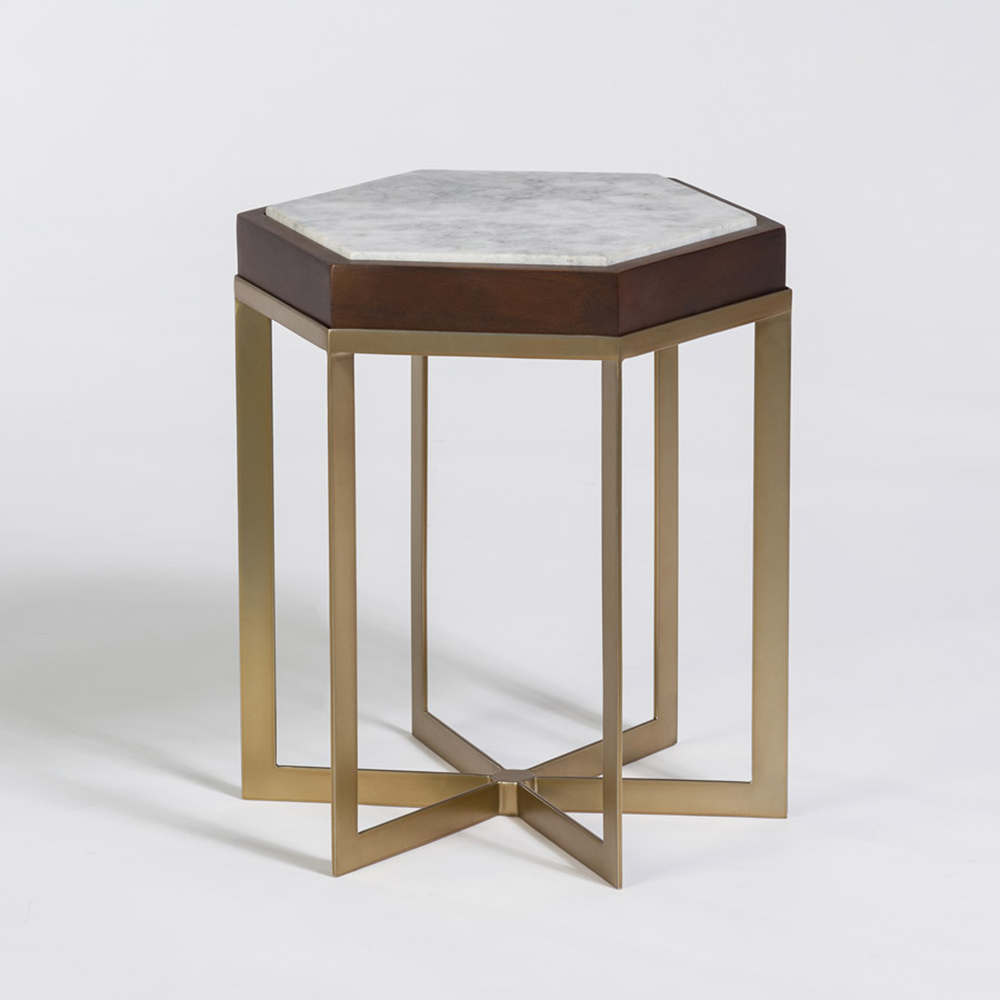 providence accent table with antique brass and marble alder tweed silver bedside lamps ashley furniture tables large ginger jar standing lamp target threshold vintage white finish