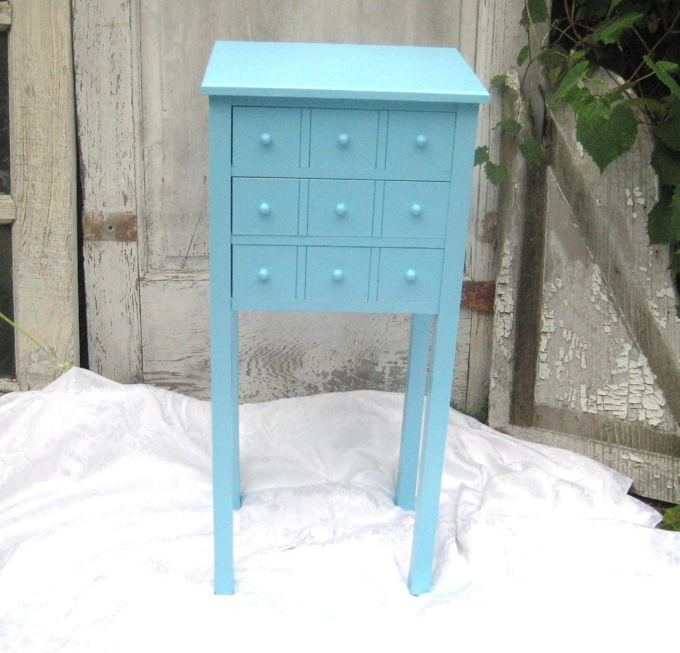 provocative charlowe nightstand retro aqua paint best small nightstands blue table accent two tier round end all weather wicker wooden frog instrument oak side magnussen sofa