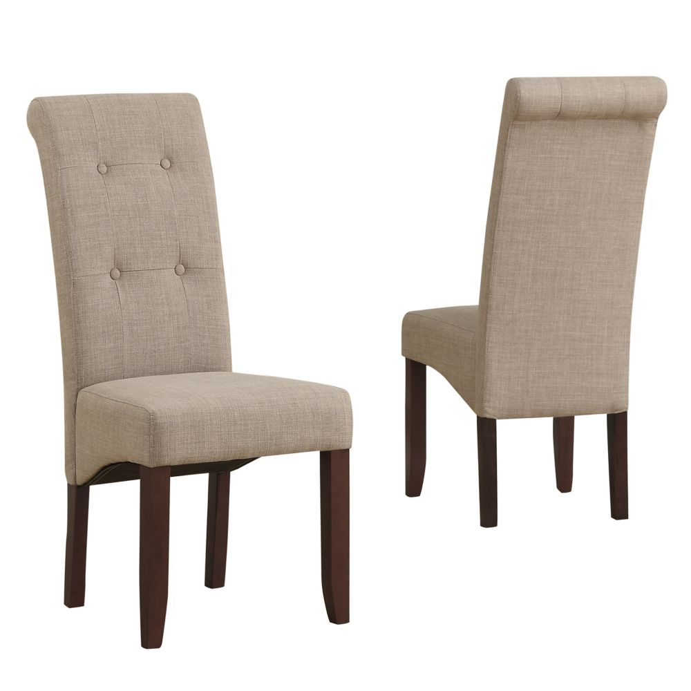 pub chair slipcovers the perfect best white leather parsons chairs dining toronto cosmopolitan solid wood brown parson armless seater table and small kitchen tall back red accent